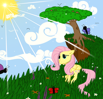 Two Trees... by Daaberlicious