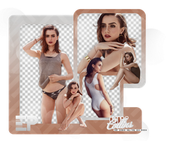 PACK PNG 378 // LILY COLLINS by ELISION-PNGS