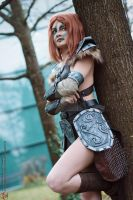 Aela the Huntress - The Elder Scrolls : Skyrim by LadySundae