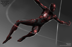 Spider-Verse Crimson Spider by SpiderTrekfan616