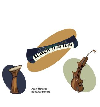 Instrument Icons by CannibalisticCacti