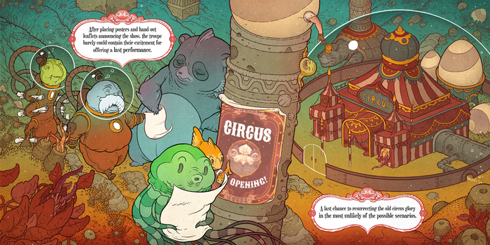 Pages from Underwater Circus (2) by Felideus