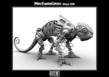 Mechameleon Occlusion by iFeelNoSorrow
