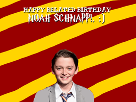 Happy Belated Birthday Noah Schnapp! by Nolan2001