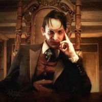 Oswald Cobblepot has a new throne by MayaCobblepot