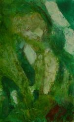 Abstract Emerald in the rough by coiplet