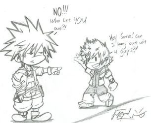 KH- WHO L3T U OU+??? by spoon-san42