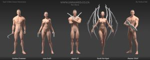 Top 5 Video Game Character Poses by YeshuaNel