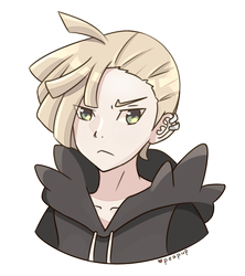 [Gift] Gladion by Peapup