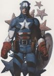Captain America colors by ChristopherStevens
