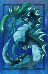 The water dragon god by Anais-thunder-pen
