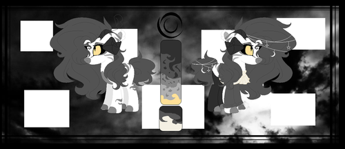 Darkness (New MLP Oc) by Cappuccinno