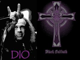 Ronnie James Dio Sabbath Wallpaper by Mick81