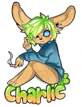 PRIZE Chibi Badge Smiladee by SpookieLee