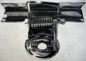 Drawing of a Paper Clip by IMDWDW