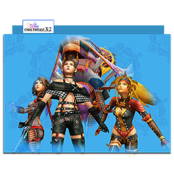 Final Fantasy X-2 Group Folder 01 by mylochka