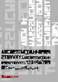 Ugloosy.ttf download by protofonts