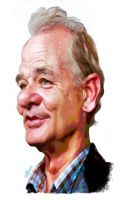 Bill Murray by wooden-horse