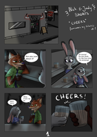 Judy and Nick shorts-cheers by Holmssie