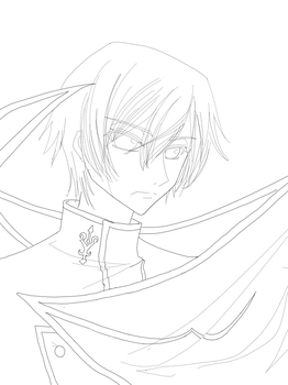 Fan Art - Lelouch Lamperouge by fwenatic
