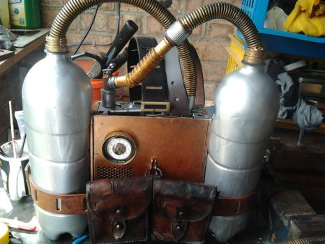 SteamPunk Fuel Pack by Mryddraal