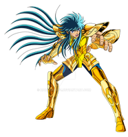 Saint Seiya Aquarius Camus, pachinko game by hadesama01