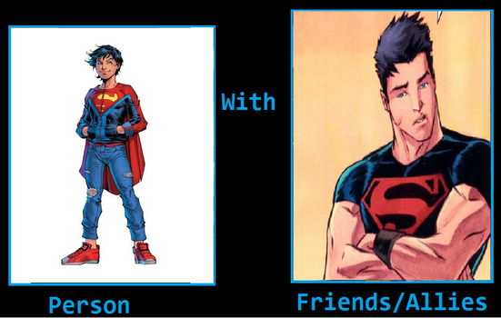 What if Jon Kent friends with Conner Kent by KeybladeMagicDan