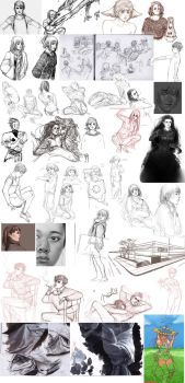 Sketch Compilation 4 by FourCG