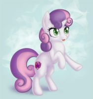 Sweetie Belle by gracewolf