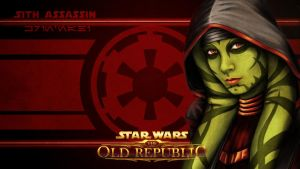 Sith Lord Krin'nahi Wallpaper -SWTOR by razorblade456
