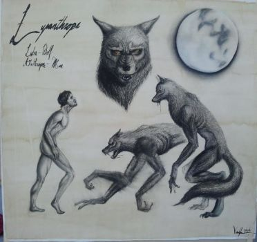Lycanthrope by LadyovBelial