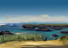 sheltered cove by shmuckwolf