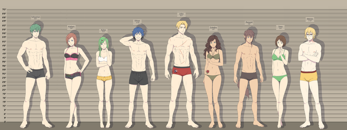 What's your height batch 3 by ichan-desu