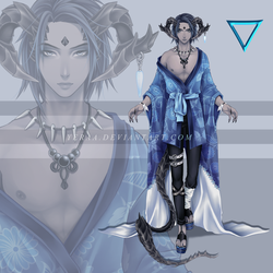 Dragonians Race: Adopt Auction 001/ SOLD by Yeraa