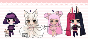 [OPEN] SLEEPY TIME ADOPTS by nino-su