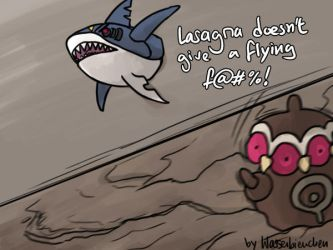 For Marriland - The Flying Shark by Wasserbienchen