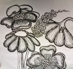 Flower Doodles by Mousethful