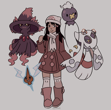 Ghost types by Azurane