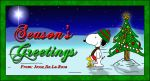 Snoopy and Woodstock Christmas by EspionageDB7
