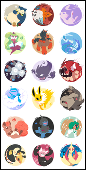 My Favourite Pokemon by raygirl