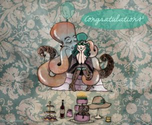 Congratulations of a Cephalopod by Lucony