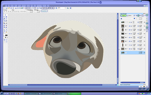 Dog Face - Unfinished preview by Supuhstar