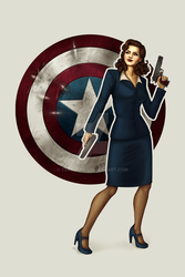 Agent Carter by TeraSArt