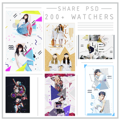 {1125} //SHARE PSD// HAPPY 200+ WATCHERS by LiizardST