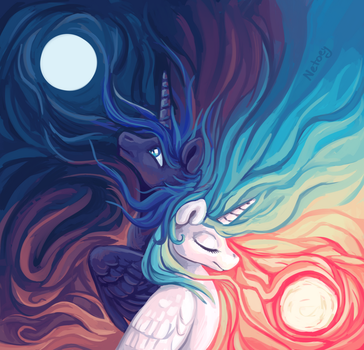 Celestials [With Speed Paint] by Netoey