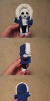 Tiny Sans Plush by Sweetslover7