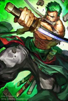 Zoro by JimboBox