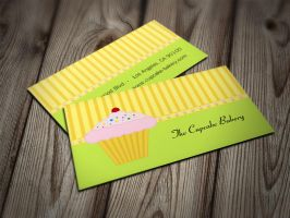 Cupcake Bakery Business Cards by es32