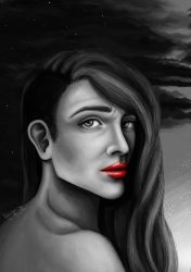 Scarlet Lips of Red - Never Silenced by Dread by designingdisasters