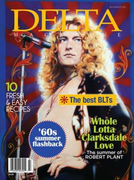 Robert Plant, Delta Magazine cover by Cynthia-Blair